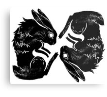 Wit and Bun Deux Metal Print