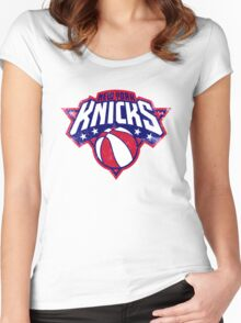 Knicks New york sport Women's Fitted Scoop T-Shirt