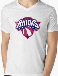 Knicks New york sport Mens V-Neck T-Shirt