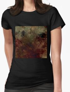 grunge background Womens Fitted T-Shirt