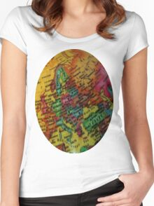 Geography Women's Fitted Scoop T-Shirt