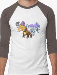 Legendary Dogs Men's Baseball ¾ T-Shirt