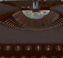You are my Favorite Thing, typewriter Sticker