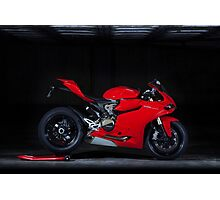 Ducati 1199 Panigale Photographic Print