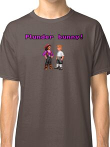 Monkey Island Plunder Bunny Retro Pixel DOS game fan item Classic T-Shirt