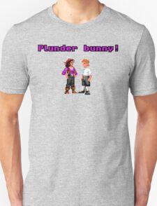 Monkey Island Plunder Bunny Retro Pixel DOS game fan item T-Shirt