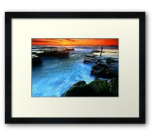 Fisherman's Delight Framed Print