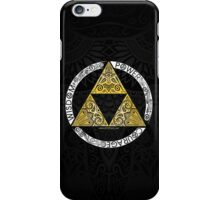 Zelda - Triforce circle iPhone Case/Skin