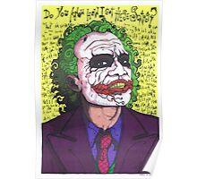 The Joker, The Dark Knight #2 Poster