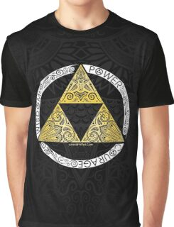 Zelda - Triforce circle Graphic T-Shirt