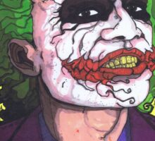 The Joker, The Dark Knight #2 Sticker