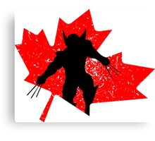 Canadian Wolverine Canvas Print