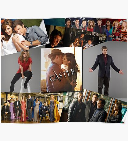 Castle Collage Poster