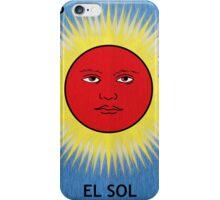 El Sol - The Sun iPhone Case/Skin
