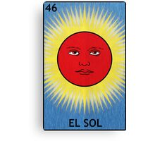 El Sol - The Sun Canvas Print