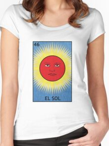 El Sol - The Sun Women's Fitted Scoop T-Shirt