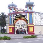 Luna Park, St Kilda by DEB CAMERON