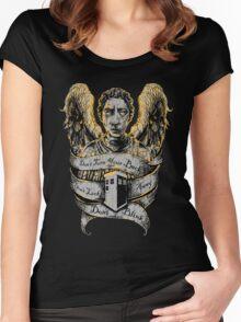 Don't Blink (Alternate) Women's Fitted Scoop T-Shirt