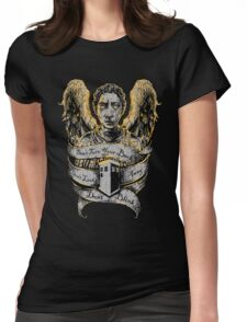 Don't Blink (Alternate) Womens Fitted T-Shirt