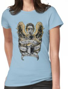 Don't Blink (Alternate) Womens Fitted T-Shirt