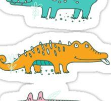 Cute Crocodiles Sticker