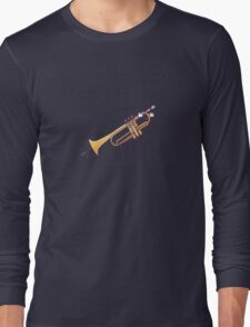 """Playing the """"trumpet"""" Long Sleeve T-Shirt"""