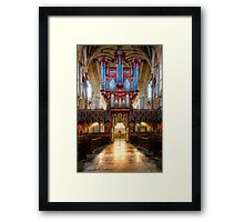 Now That's an Organ! Framed Print