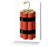 Dynamite by Chillee Wilson Greeting Card