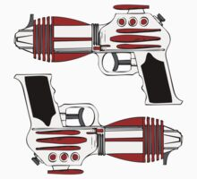 Retro Space Ray Guns by Chillee Wilson by ChilleeWilson