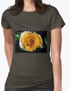 Backlit Yellow Rose T-Shirt
