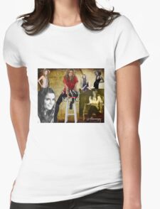 Stana Katic Womens Fitted T-Shirt