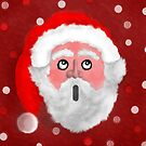 Father Christmas in awe by Dulcina