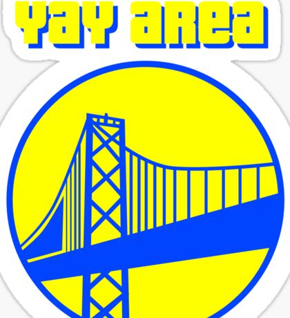 The YAY AREA Sticker