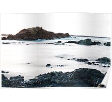 Rocks - Port Macquarie Poster