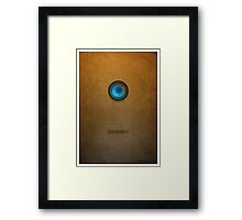Doctor Who - Dalek Exterminate Framed Print