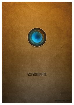 Doctor Who - Dalek Exterminate by KarmaOrange