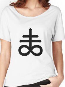 Crux Satanus - Black Women's Relaxed Fit T-Shirt