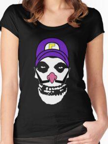 Misfit Waluigi Women's Fitted Scoop T-Shirt