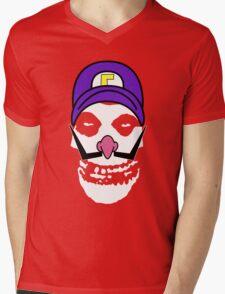 Misfit Waluigi Mens V-Neck T-Shirt