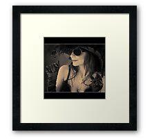 hollywood....... Framed Print
