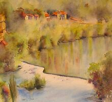 Morning on the Dordogne by Beatrice Cloake