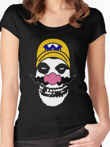 Misfit Wario Women's Fitted Scoop T-Shirt