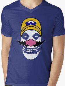 Misfit Wario Mens V-Neck T-Shirt