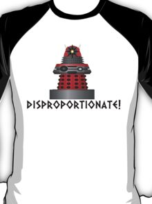 dalek -disproportionate! T-Shirt