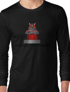 dalek -disproportionate! Long Sleeve T-Shirt
