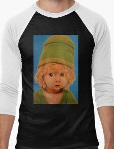 Vintage Green Dolly Men's Baseball ¾ T-Shirt