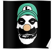 Misfit Luigi Poster