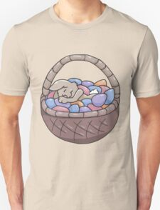 Asleep Amongst the Easter Eggs T-Shirt