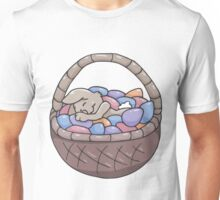 Asleep Amongst the Easter Eggs Unisex T-Shirt