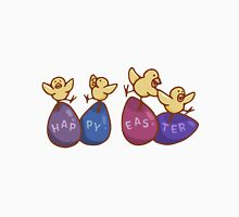 Happy Easter Chicks on Eggs Unisex T-Shirt